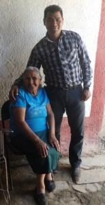 Pastor Jose with Grandmother