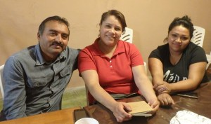 Juan, Sandra and Patricia are starting a new ministry to feed the elderly.