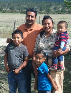 Pastor Reynaldo and Loudes wife have a delightful family.