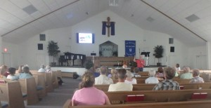 Over 30 people were at Christ Chapel in Bandera, Texas to hear about the Gospel in Mexico.