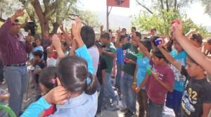 Many kids professed faith in Jesus!