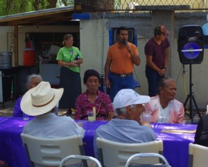 Pastor Reynaldo served as the MC for the event.