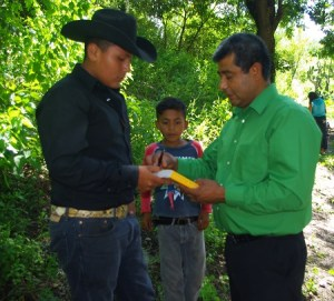 This young man prayed to receive Jesus. We gave him a Bible and asked him to start in John.