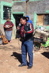 Ramiro delivered a powerful sermon to the folks in Mimbres.