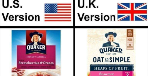 UK/US trade Deal - Food examples of what it looks like