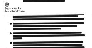 "Redacted 'Trump-Trade' Files - ""shocking display of disregard for democratic accountability"""