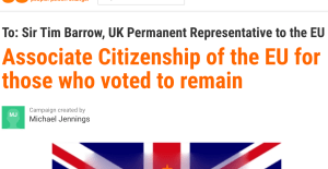 Associate Citizenship of the EU for those who voted to remain