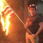 Man Arrested for Burning American Flag Will Not Be Charged