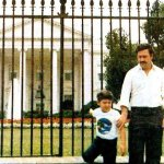 Obama's Next Guest?: A rare photo of one of history's wealthiest drug lords posing in front of the White House