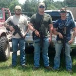 Citizens with AR-15s Stand Guard Outside Texas Police Departments