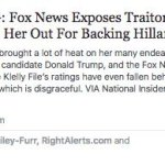 Facebook promoted a fake story about Fox News anchor Megyn Kelly