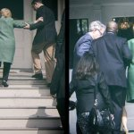 SHOCK PHOTO: MULTIPLE STAFFERS HELP UNSTABLE HILLARY UP STAIRS