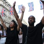 UK Black Lives Matter Protesters Block Heathrow Airport Road