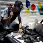 Coming to America: Venezuela just crushed 2,000 guns in public, but the country is still awash in weaponry
