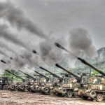 S. Korea holds largest artillery drills near N. Korea border