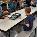 Florida State Football Player Joins Boy with Autism Sitting Alone for Lunch