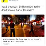 "These headlines about terror from the ""media"" show just how brainwashed they really are"