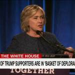 Trump's Latest Ad Hits Hillary's 'Basket Of Deplorables' Comment