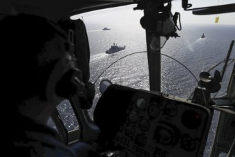an-aerial-view-of-the-operation-in-the-black-sea-from-a-russian-helicopter