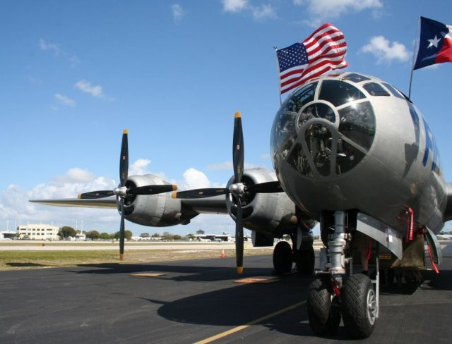 of-about-4000-b-29s-produced-only-one-the-fifi-remains-airworthy-it-is-owned-and-maintained-by-is-owned-by-the-commemorative-air-force-based-at-addison-texas