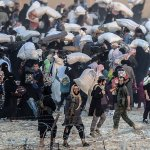 Islamic State takes 550 families to be human shields in Mosul