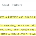 "Hillary Private Speech: ""You need to have a public position and a private position on policy"""