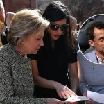 FBI: Huma & Hillary Sent Classified Intel on Weiner's Unsecured Email; Once Shared a Server With Dog Groomer