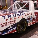 NASCAR Truck to Carry Donald Trump 2016 Logo at Talladega