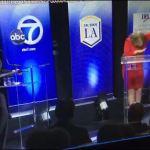 VIDEO: California U.S. Senate candidate 'dabs' during debate