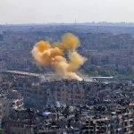 Free Syrian Army Shells Eastern Aleppo Preventing Evacuation of 200 Civilians