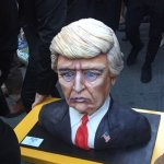 The internet is losing it over Donald Trump's victory cake