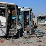At least 24 people killed in twin suicide attacks as Isis are forced from Mosul