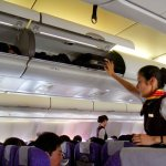 US airline to charge passengers extra to use overhead lockers