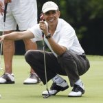 Obama's successful eight-year initiative: His golf handicap's down by 4