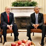 Nearing exit, Obama seeks to tie Trump's hands