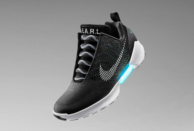 VIDEO: Nike made a $720 pair of futuristic sneakers that can lace  themselves up