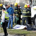 Truck rams into soldier crowd in Jerusalem, 4 dead, about 15 injured