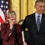 Celebs Bid Obama, 'King Amongst Men,' a Tearful Farewell