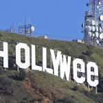 Vandal alters Hollywood sign to say 'Hollyweed' for New Years Eve prank