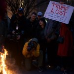 Here Are 17 Pictures From Inside The 'Peaceful' Protest On Inauguration Day