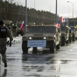 "American Troops ""Roll Into Poland"" In Largest Deployment Since The Cold War"