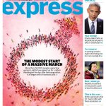 Cover Of WaPo Express Celebrates Women's Rights With… Male Gender Symbol