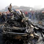 Islamic State claims suicide car bombing that killed 13 in Baghdad vegetable market