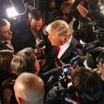 Donald Trump's honeymoon with the media may be the shortest in history