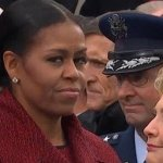 VIDEO: Michelle Obama's Top 10 Nastiest Resting Bitch Face Scowls From Trump's Historic Inauguration Day