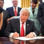 WATCH: Trump signs executive order to slash regulations
