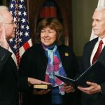 VIDEO: Betty Price BEAMS As Pence Swears In Tom Price As HHS Secretary