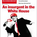 The Economist Cover Shows Trump Throwing Molotov Cocktail