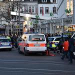 RAW VIDEO: German Police Drop Knife-Wielding Car Attacker With One Loud Shot to End Street Terror
