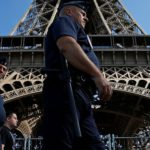 Paris Erects Wall Around Eiffel Tower To Guard Against Terrorists